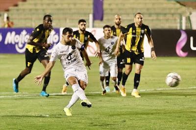 ملخص اهداف مباراة بيراميدز والمقاولون العرب (2-0) الدوري المصري