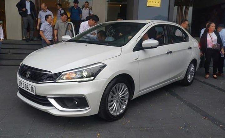Suzuki Ciaz 2020 xuất hiện tại Việt Nam, sẵn sàng đấu Mitsubishi Attrage