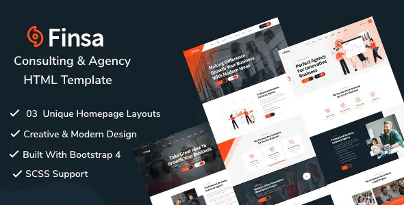 Best Consulting & Agency Template