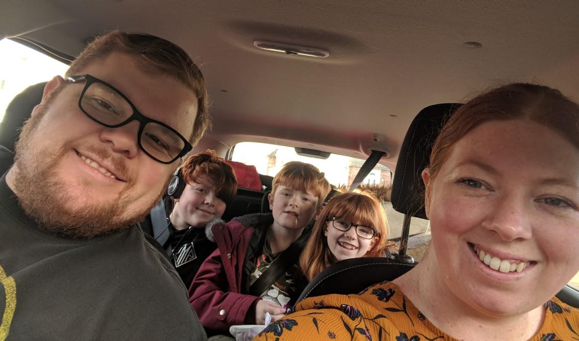 Image - car selfie