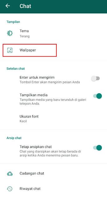 Cara Mengganti Wallpaper Chat Whatsapp untuk Seluruh Kontak dan Kontak Tertentu Saja