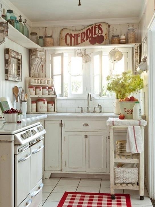 Arredamento I Love Shabby Chic: Cucina i dettagli che fanno la ...