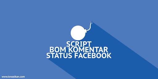 Cara Bom Komentar di Status Facebook