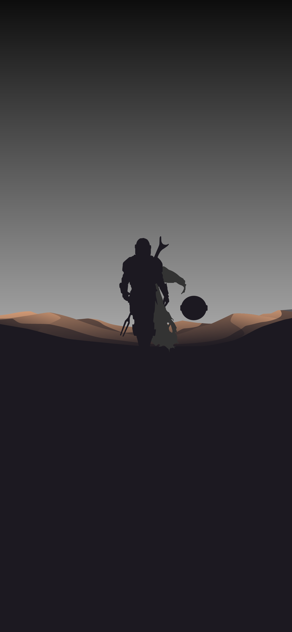 The Mandalorian Minimalist Wallpaper 4k Heroscreen Cool Wallpapers