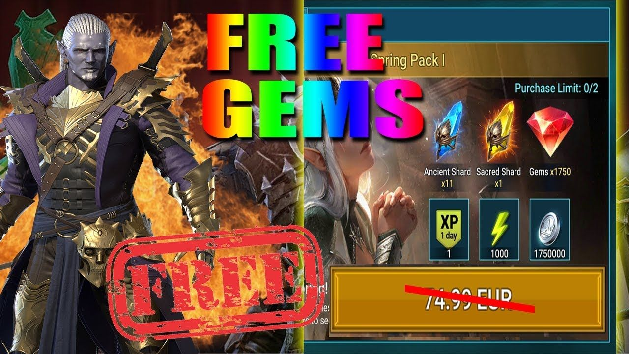 Get RAID Shadow Legends Unlimited Gems For Free! 100% Working [October 2020]