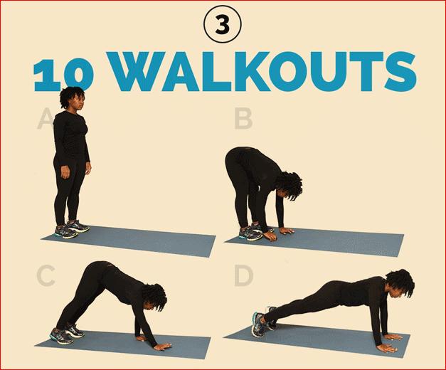 10 Walkouts