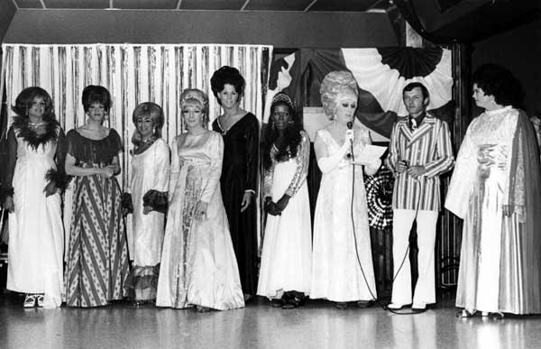 Womanless beauty pageant, circa 1967