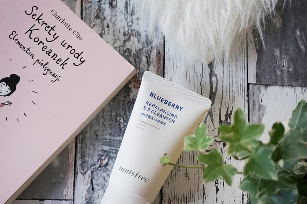 Innisfree blueberry rebalancing 5.5 cleanser - koreański sposób na oczyszczanie twarzy