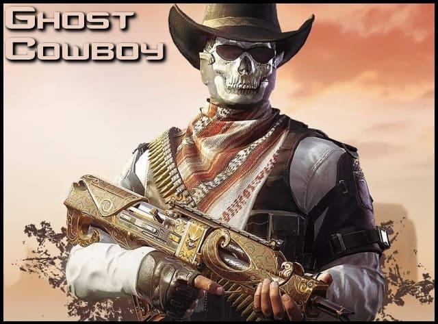 Personaje Ghost Cowboy