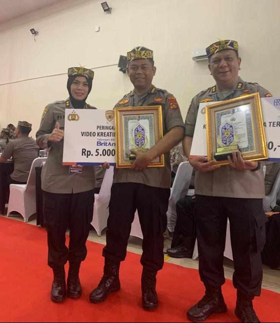 SIPP Terupdate, Polda Jambi Terima Piagam Penghargaan Dari Assdm Kapolri