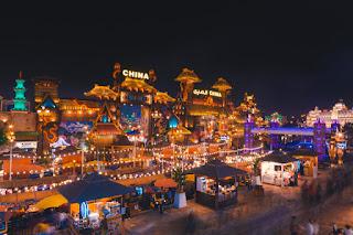 الجناح المغربى فى القرية العالمية بدبى يجهز لـ«بوتيك أزياء» مبهر فى احتفالات اليوبيل الفضى