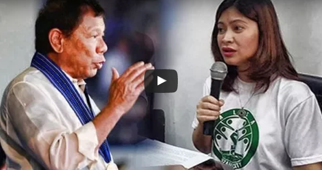WATCH: Duterte Sinagot Na Si Vice Mayor Nova Princess Parojinog