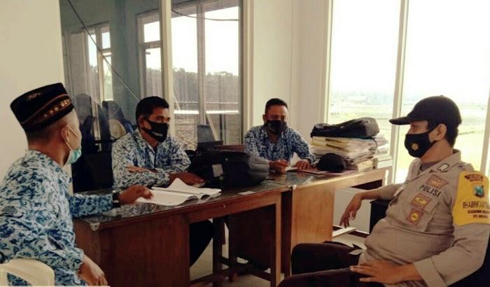 Pelacakan Kontak/ Tracing PMI, Libatkan Bhabinkamtibmas Desa