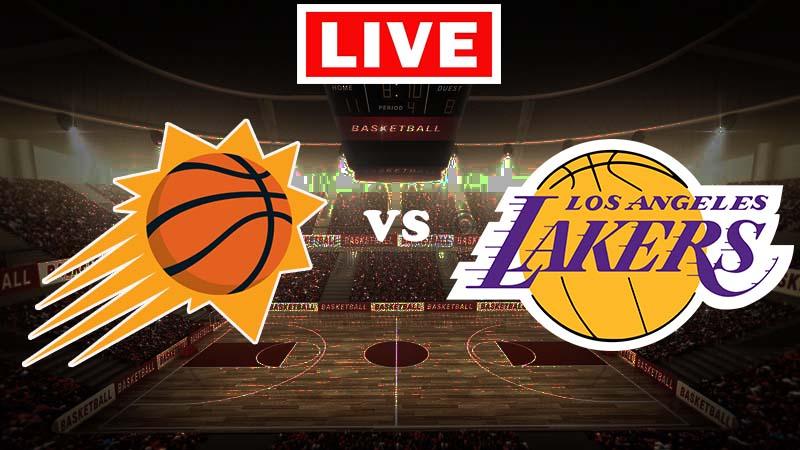 Ver partido gratis en vivo de los Phoenix Suns vs. Los Angeles Lakers.