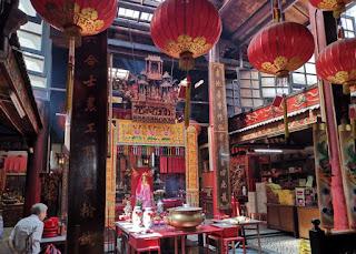 Barrio Chino o China Town de Kuala Lumpur. Sin Sze Ya Temple.