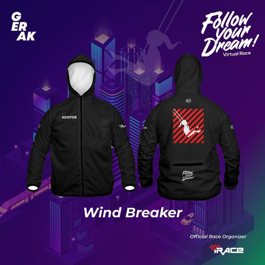 Mentor Jaket - Follow Your Dream Virtual Race • 2021