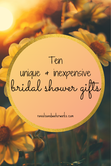 bridal shower, bridal shower gifts, ideas, bridal shower party; what to get for a bridal shower