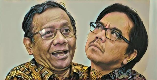 Protes ke Prof Mahfud Soal L6BT, Ade Armando Dihajar Netizen