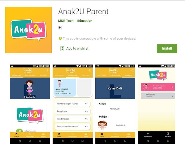 Aplikasi Anak2U