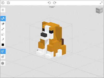 Mega Voxels Play Interface