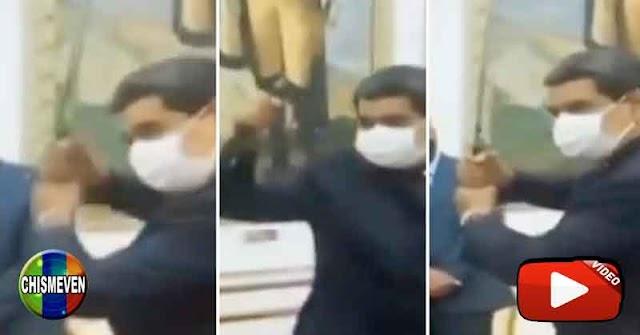 Nicolás Maduro demostró sus destrezas de Samurái frente a Steven Seagal
