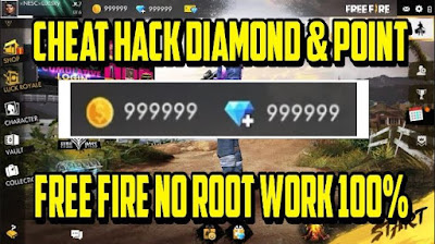 Cara Hack Diamonds Free Fire Tanpa Root