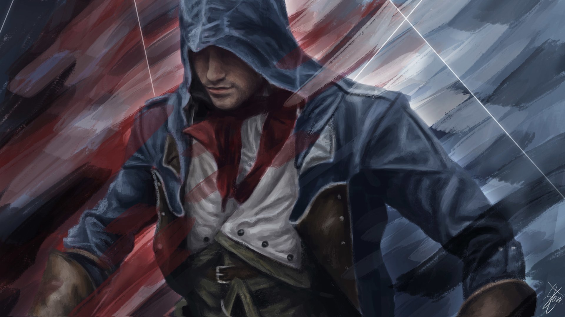 Assassins Creed Arno Art Wallpaper Hd