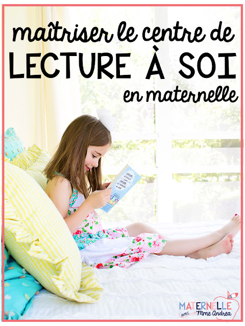 One literacy centre that is really easy to maintain with very little prep is the Read-to-Self centre. But how can you set one up before your students know how to read? This blog post explains how it works in my French kindergarten classroom.