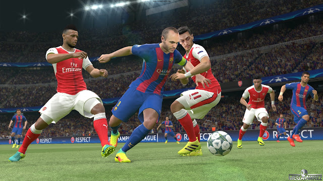 Pro Evolution Soccer 2017 pc imagenes