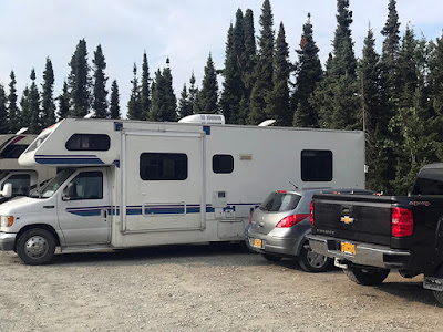 Hard to Find Parking at Rotary Park - Soldotna, Alaska