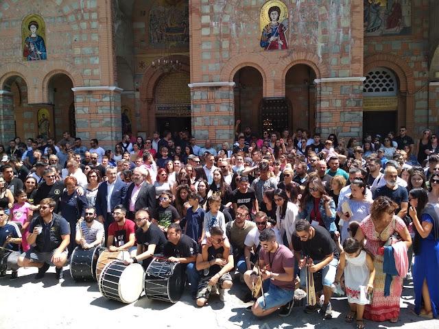 Πρέβεζα: Στο 21ο Συναπάντημα Νεολαίας Ποντιακών Σωματείων συμμετείχαν μέλη της νεολαίας του Εξωραϊστικού Εκπολιτιστικού Συλλόγου Ν.Σαμψούντας «Η ΑΜΙΣΟΣ»
