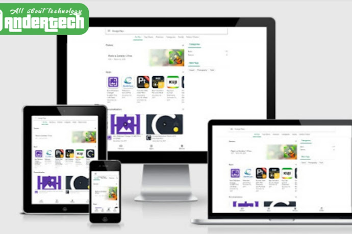 Download Google Play Store v2 Blogger Template Free