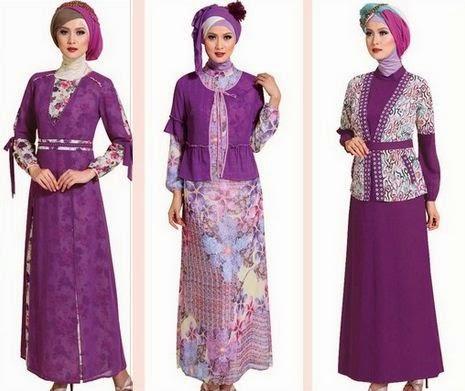Koleksi baju muslim modis 2015