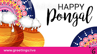 Happy Pongal Festival greetings 2018
