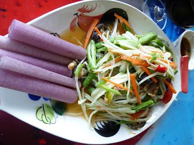 Thai Food Mango Garden Guesthouse Wat Sing