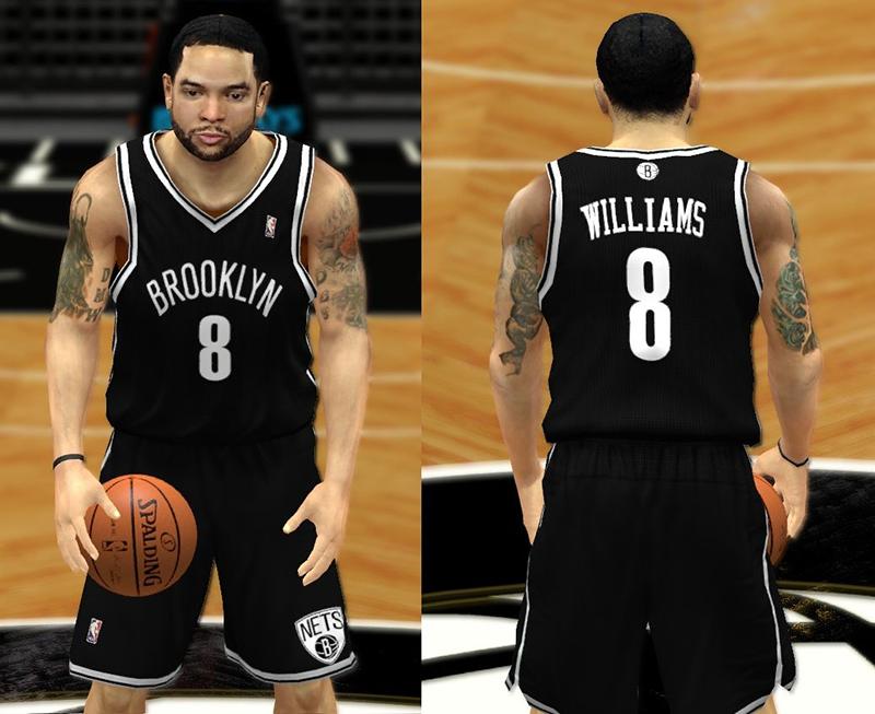 finest selection 1231f 40455 NBA 2K14 Complete Brooklyn Nets Jersey Patch - NBA2K.ORG