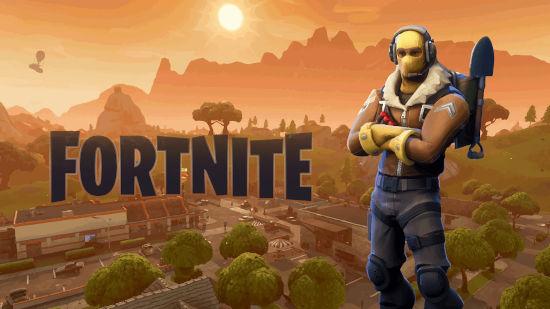 Fortnite Battle Royale - Logo et Raptor - Full HD 1080p