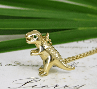 T-Rex Pendant Necklace Jewellery Blog