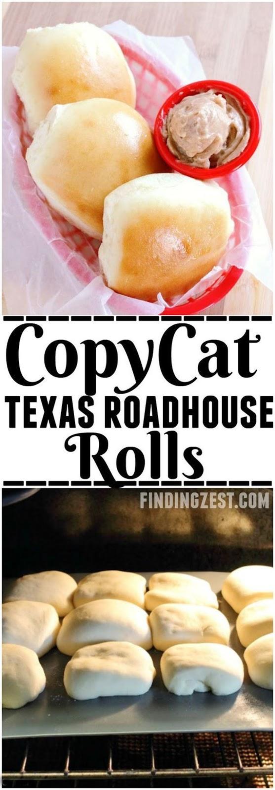 Copycat Texas Roadhouse Rolls and Cinnamon Butter Recipe #roadhouserolls #cinnamon #butter #dinnerrecipes #easydinnerrecipes #dinnerideas