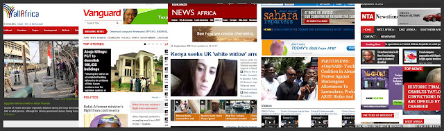 Africa news, news in africa, global news, sites about africa