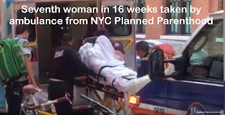 Seventh woman in 16 weeks taken by ambulance from NYC Planned Parenthood