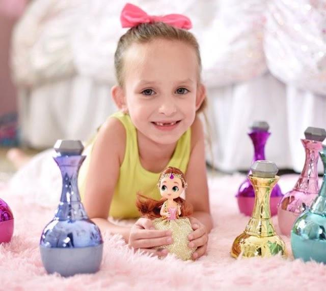 Куклы джинны Genie Surprise Toys: сюрприз 2 в 1 для девочек