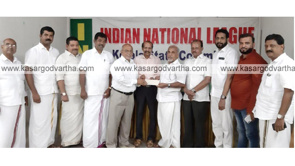News, Kerala, UAE IMCC, Handover, Cheque, UAE IMCC handover the cheque