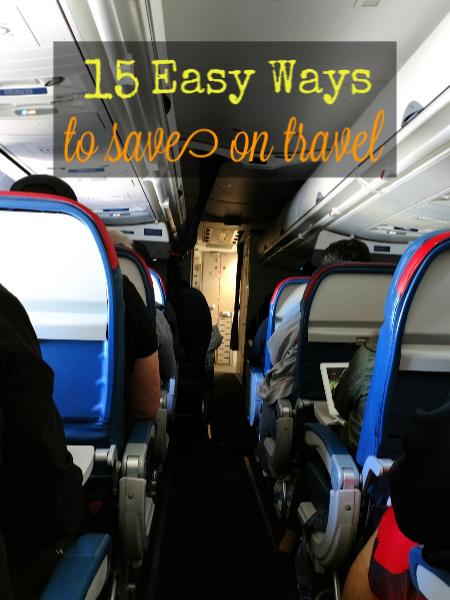 ways to save on travel