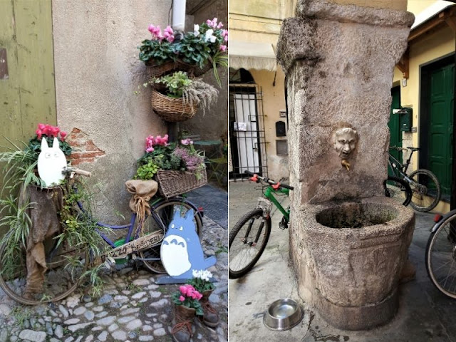 fontana in piazza garibaldi a finalborgo