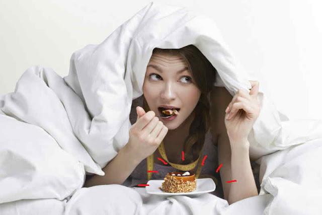 Eating Before Sleeping