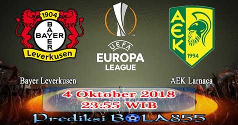 Prediksi Bola855 Bayer Leverkusen vs AEK Larnaca 4 Oktober 2018