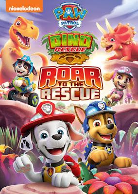 Paw Patrol, Paw Patrol Dino DVD, Paw Patrol Dino Rescue