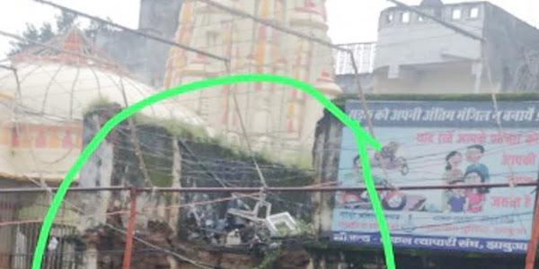 राजवाड़ा पर जीर्ण-शीर्ण भवन को डिस्मेंटल को लेकर राजवाड़ा मित्र मंडल ने एसडीएम को दिया पत्र