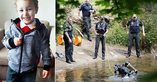 Mystery man seen by Welsh river where Logan, 5, was found dead an hour later, locals reveal